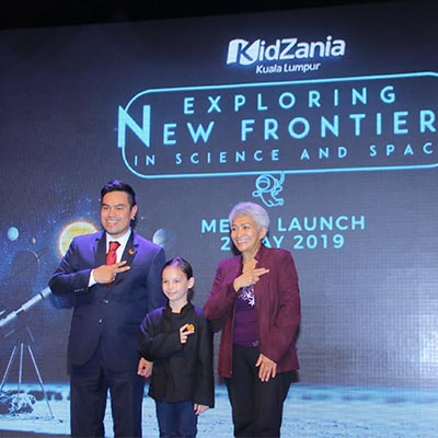Kidzania takes on science and space with school holiday programme