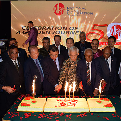 NKF Malaysia celebrates 50 years by promoting kidney health