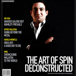 Marketing Magazine: The Art of Spin Deconstructed.